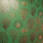green luxurious wallpaper
