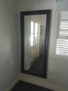 wall mounted full length mirror