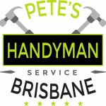 Pete's Handyman Logo on Transparent Logo