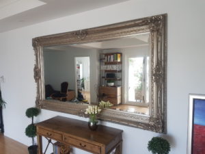massive elegant mirror wall mounted