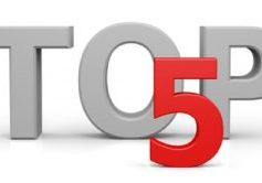 images of the word top and the number 5
